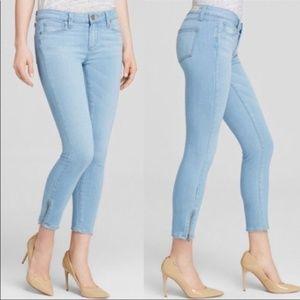 Paige Verdugo Crop Zip Skinny jeans 28